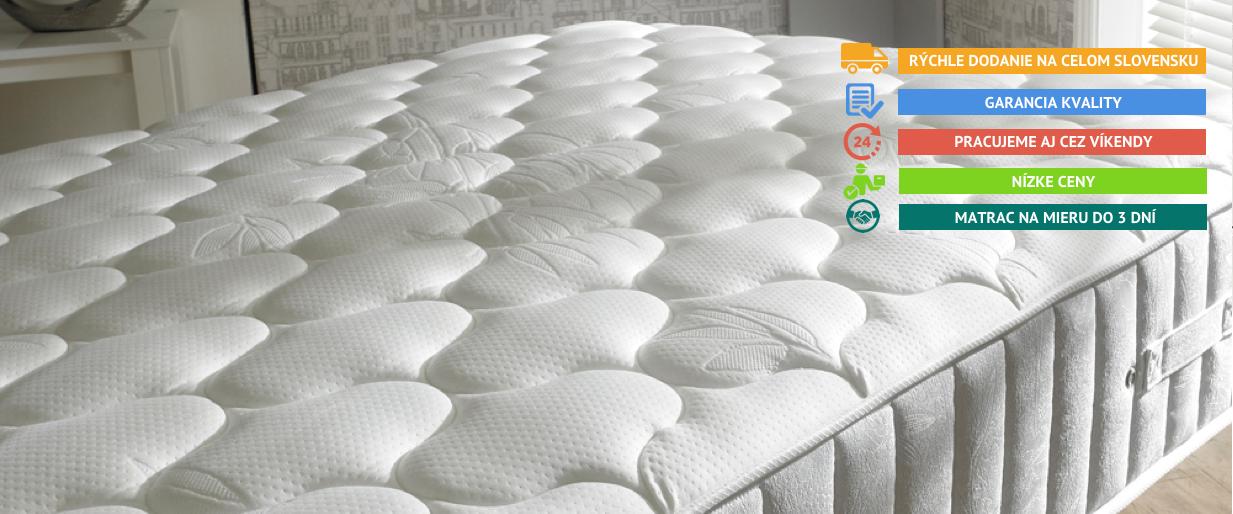 Luxusné matrace